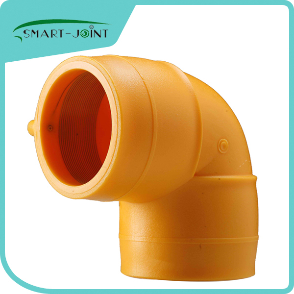 HDPE elbow fitting electro fusion pe fitting