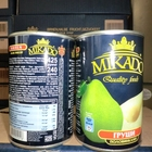 Canned Fruit Canned Pears In Syrup Or In Pear In Or