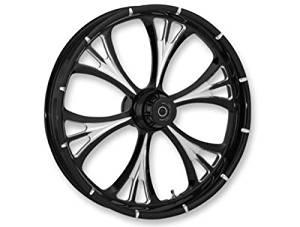 RC Components Majestic Eclipse Forged 23x3.75 Front Wheel, Position: Front, Rim Size: 23, Color: Black 23375-9001-102E