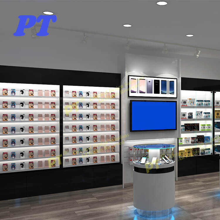 Mdf Mobile Shop Interior Decoration Ideas Mobile Phone Store