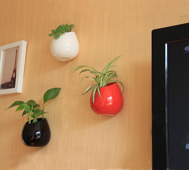 kaufen sie 2015 europ ischen stil vase keramik drop wand vase blumentopf. Black Bedroom Furniture Sets. Home Design Ideas