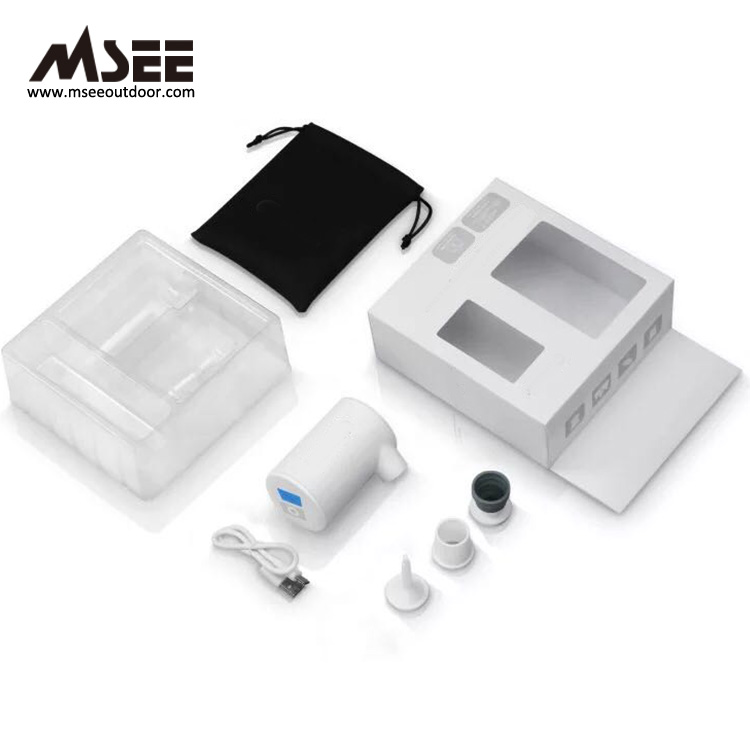MSEE Produce MS-107 mini electric battery powered oxygenato air pump india