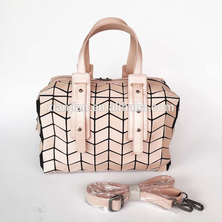 Xianjian Boston Laser Bao Handbag Office Lady <strong>Totes</strong> of geometric bag (XJJY88)