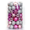 Indoor Christmas Decoration Christmas Item Type and Christmas Decoration Supplies Type chrome plastic ball