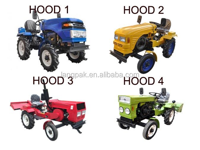 Multifunction China Mini Tractor/ Small Tractor Price With Potato ...
