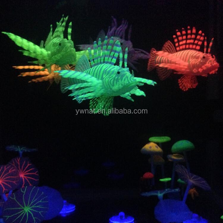 Ongebruikt Nieuwste Populaire Goedkope Aquarium Decoratie Siliconen Glow In WR-52