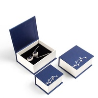 low price hot sale cardboard paper jewelry gift box with magnetic lid