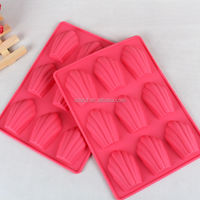 New Arrival!!! 9 Cup Silicone Madeleine Cake Mold Mould&Bakeware