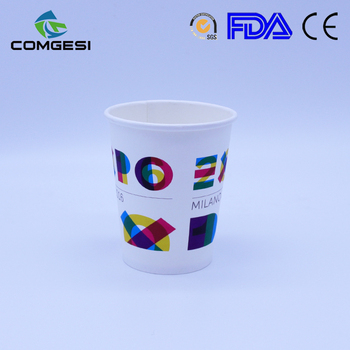 Cold Paper Cups_Double PE Coated Disposable Coffee Cups With Lids_disposable paper coffee cups