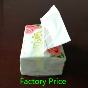 Manufacturer factory 2 ply 3 ply custom soft pack facial tissue
