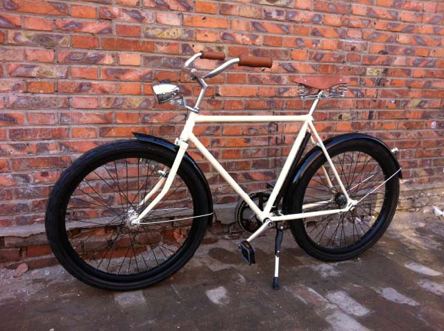 28inch Mens Traditional Bicycle Retro Dutch Bikes City