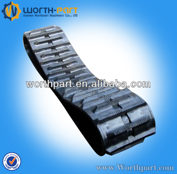 Interchangeable type Combination Construction Rubber track