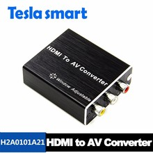 AL HDMI To AV Converter for video and audio hdmi male to 3 rca video audio av cable