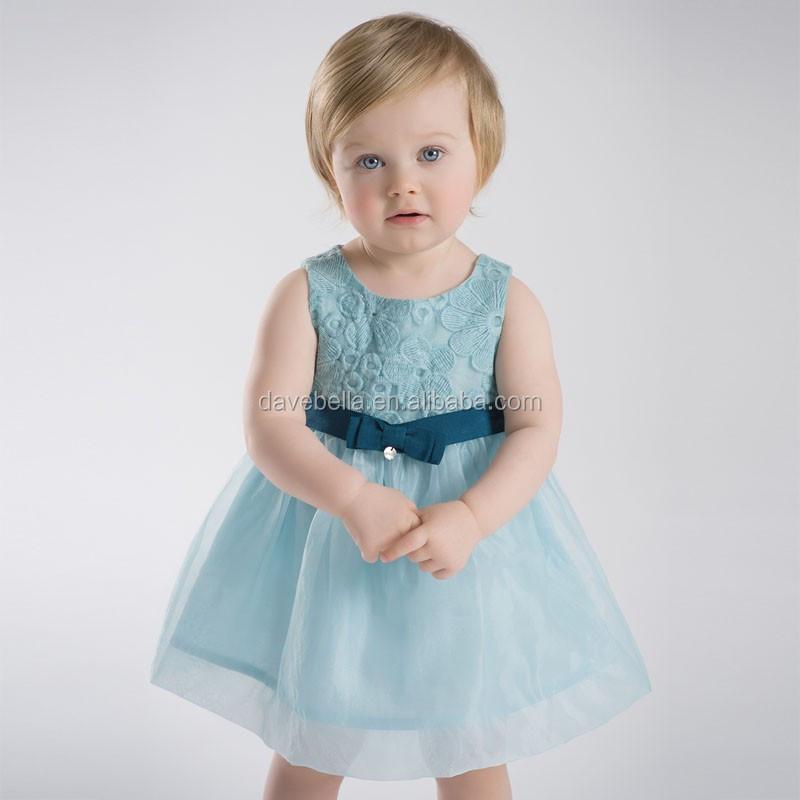 Db1958 Dave Bella 2015 Summer Wedding Dress Baby Dress Girl Dresses ...