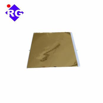 Taiwan K Gold 14x14cm Gold Leaf Foil Sheets For Decorating Wall Crafts  Furniture - Buy Gold Leaf Foil For Furniture,Gold Foil For Decorating,Gold  Leaf