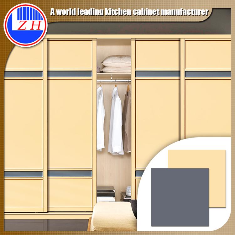 Nieuwe moderne slaapkamer closet hout garderobekasten for Slaapkamer garderobekasten