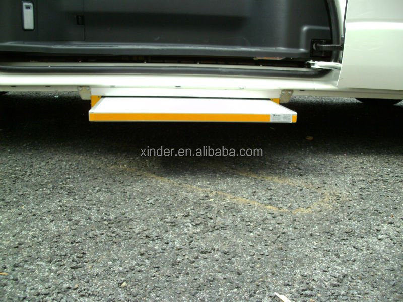 ES-S-600 auto step Electric Sliding Step for van and truck with CE certificate