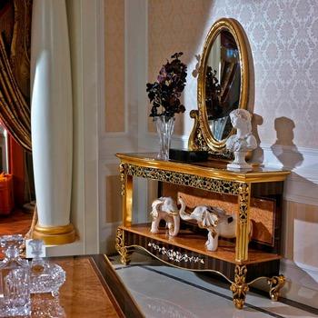 Yb61 Luxury 18th Century Antique Mahogany Solid Wood Decoration
