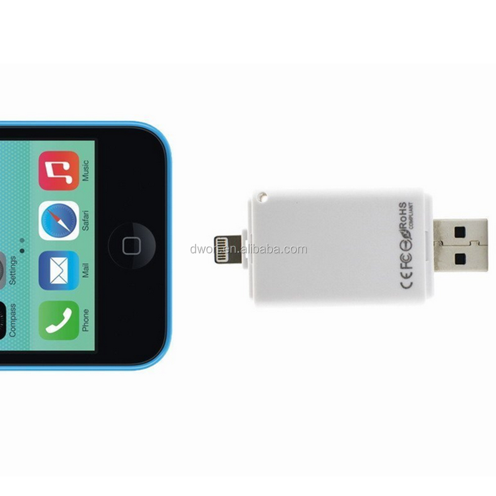Hot wholesale Wireless WiFi U Disk Wireless USB Flash Drive 32GB for iPhone