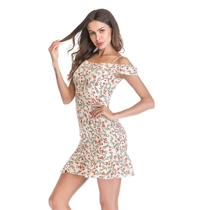 Wholesale women clothes casual bandeau mini dresses