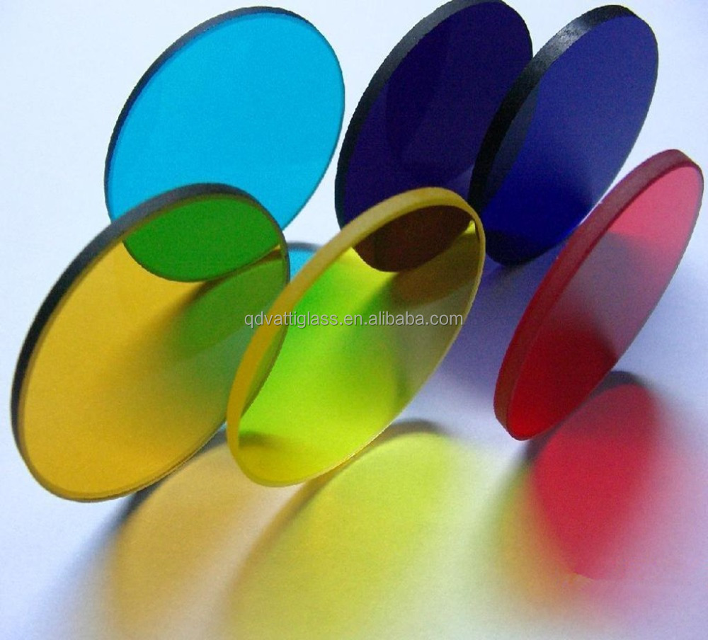 Diameter 50mm Thickness 5mm Colorful Glass Sheet,Ir Filter - Buy ...