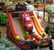 giant inflatable toy car slide in stock SL-33
