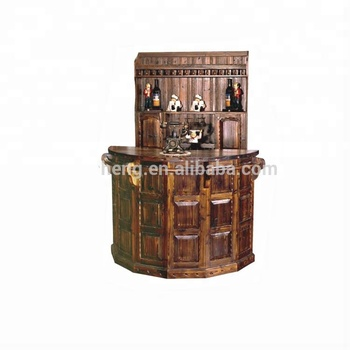 2018 Luxury French Baroque Home Furniture European Classic Cabinet Victorian  Antique Musical Wooden Bar Counter