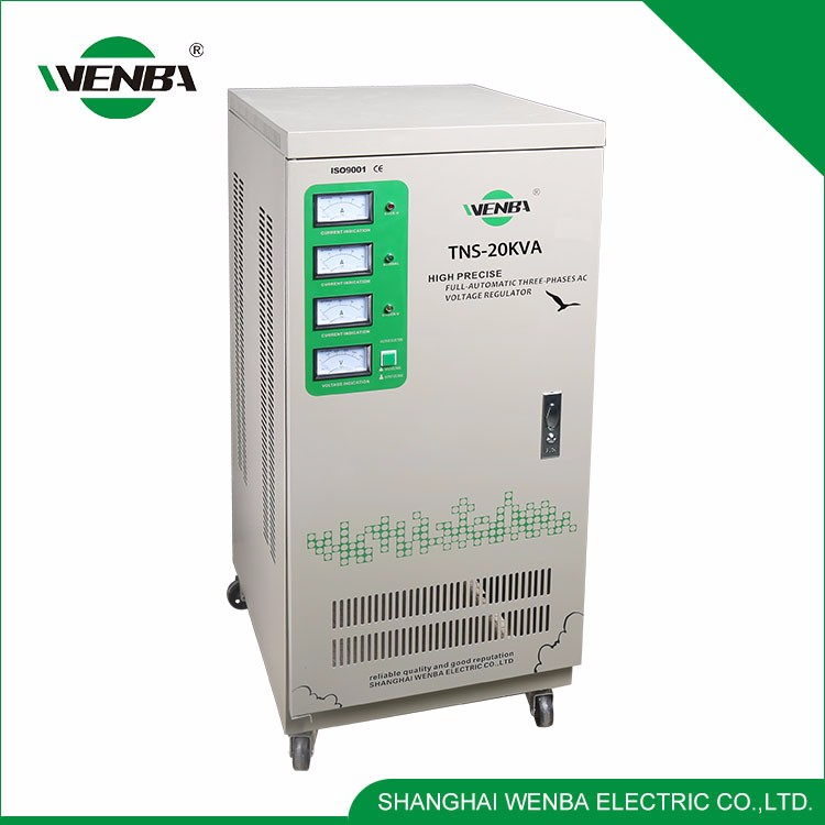 High Technology Widely Use Quality-Assured Voltage Stabilizer/Regulator 20Kva