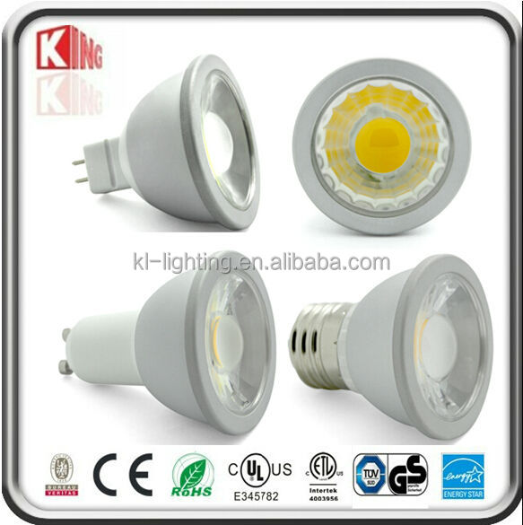 Cold Forging Aluminum Housing 5W gu10 led lamp For Ceiling, Museum, Showcase, Local Lighting