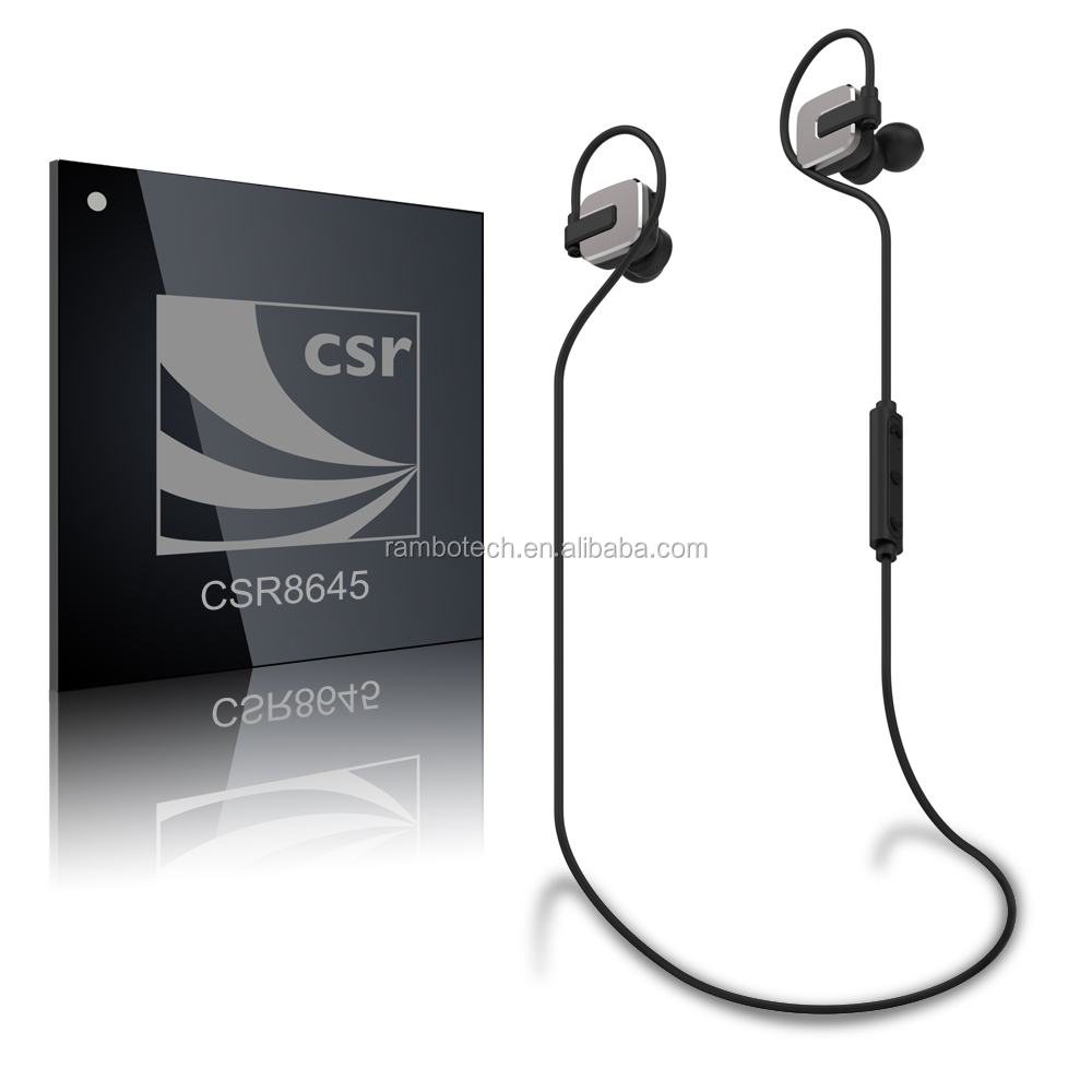 New Stylish Waterproof Wireless Bluetooth Headset Headphones With Noise Cancelling Function RBD129--- Sophia