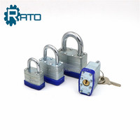 brass cylinder 50mm iron laminated padlock