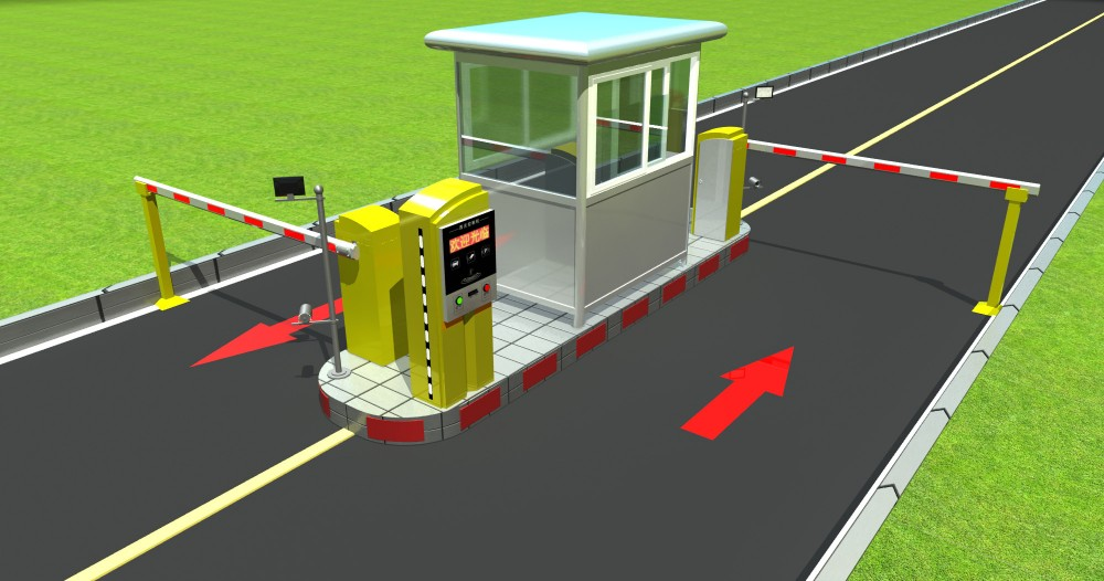 Exit-payment Rfid Card Access Car Parking System - Buy Rfid Card ...
