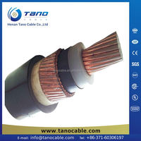 types of electric conductors medium voltage power cable internal telecom cable 33kv cable xlpe price
