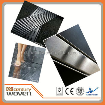 Linear Floor Waste Grate Stainless Steel Shower Drain 600mm ...