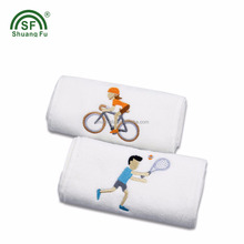 100% Cotton / Bamboo Embroidery logo Sport / Spa / Gym towel