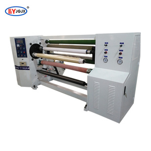 LY-803 copper foil tape rewinding machine/BOPP gum tape making machine/spike tape rolling machine