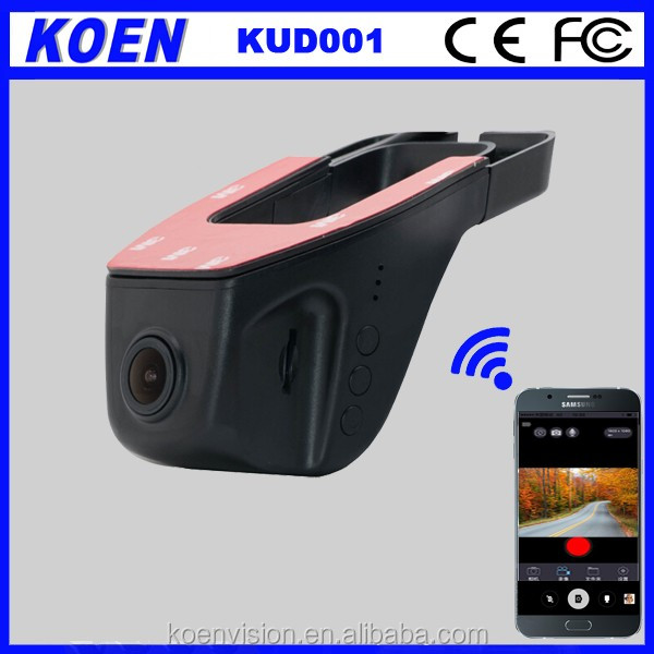 2017 Koen 170 Wide Degree WDR Night Vision 1080P Hidden Wifi Video Camera for Car