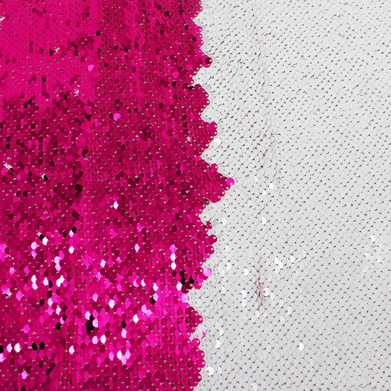 Latest Design Ecofriendly Custommade 5mm Hollow Paillette Sequin Fabric By The Yard