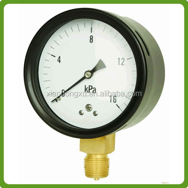 Contemporary hot selling temperature and pressure gauges