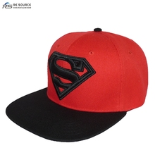 100% acrylic polyester branded hats caps custom snapback cap hat logo embroidered cap