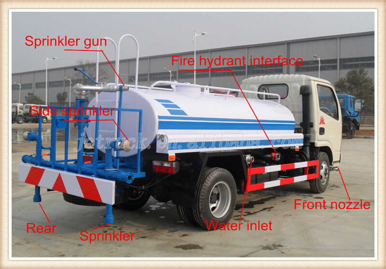 Dongfeng Water Sprinkler Truck Tanker 22000l 6x4 Water