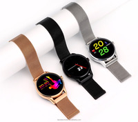 IPS Touch Screen full round K88 design smart watch SMA09 mobile watch phone Wireless4.0 fashion