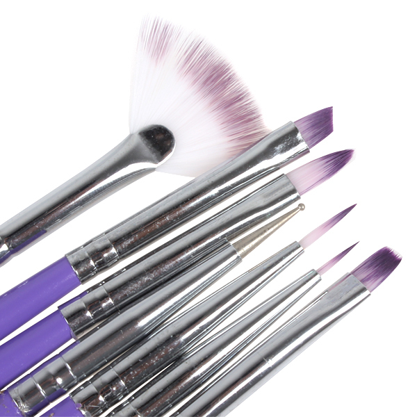 Cheap dotting tool set find dotting tool set deals on line at purple nail art tools design brush manicure for sciox Gallery