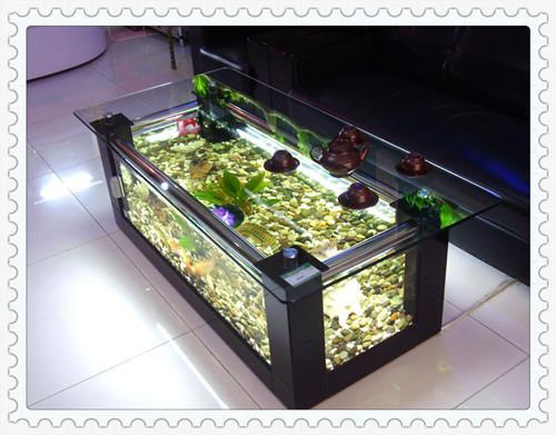 36 Gallon Aqua End Table Aquarium Fish Tank