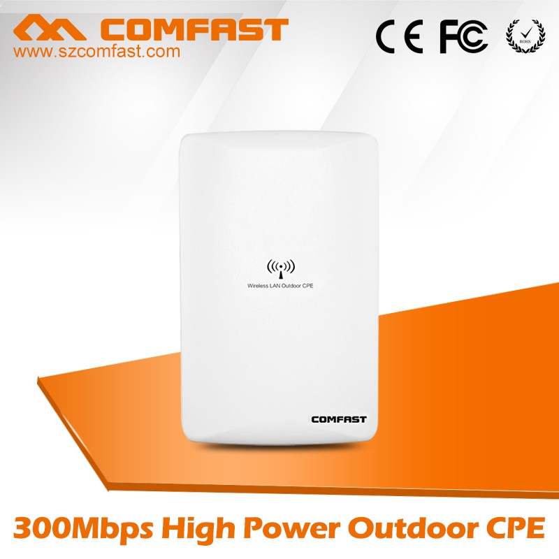 Best Selling Function Wireless COMFAST CF-E316N lte CPE/Netwok Bridge Outdoor With AR9314 Watchdog Chip