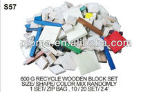 (S57) 600G RECYCLE WOODEN BLOCK SET