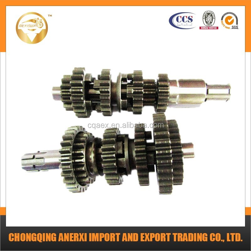 High Performance CG200 Main and Counter Shafts For Motorcycle Spare Parts