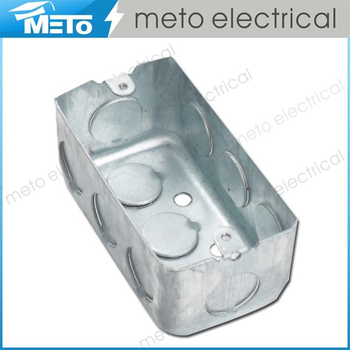 Zhejiang Meto Electrical: Small Electrical Junction Box/wall Junction Box/metal