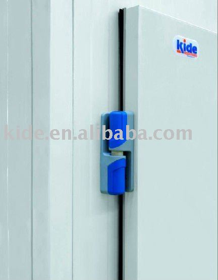 Cold room door manufacturing hardware accessory