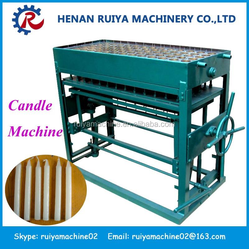 wax melting candle making machine